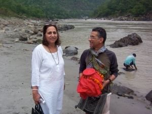 At the Ganges...